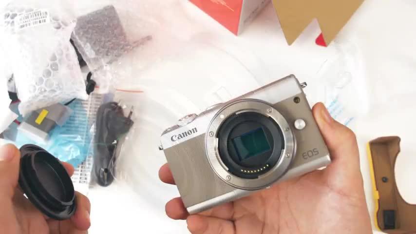 Kamera, ValueTech, Canon, Systemkamera, EOS M100