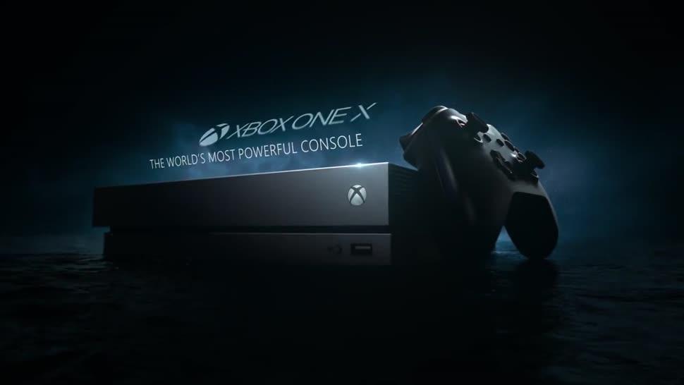 Microsoft, Trailer, Xbox, Xbox One, Werbespot, Microsoft Xbox One, Xbox One X, Microsoft Xbox One X