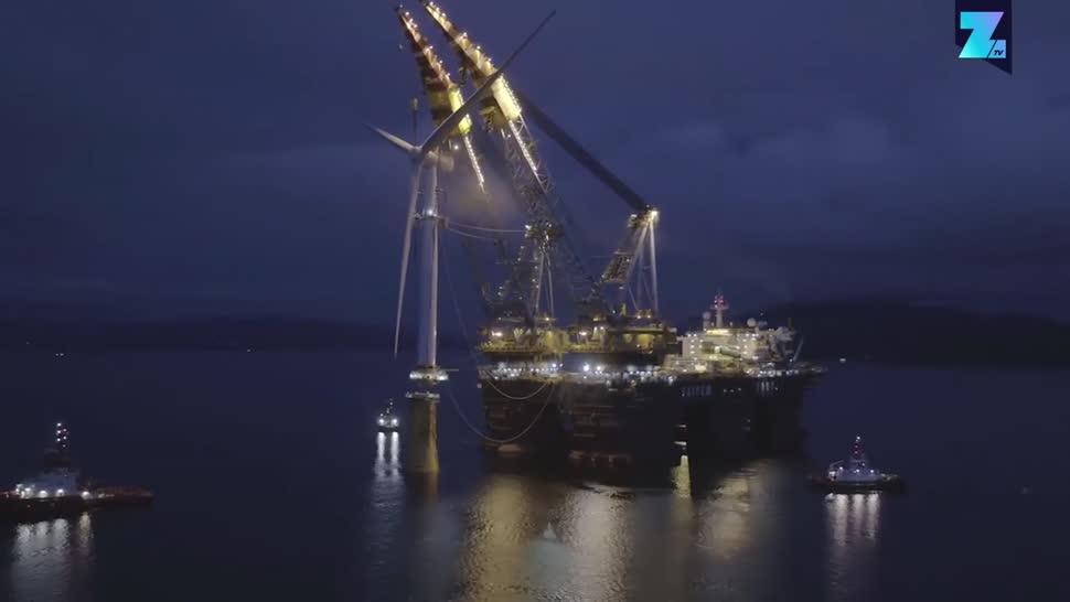 Zoomin, Energie, Energieversorgung, Erneuerbare Energien, Regenerative Energie, Windenergie, schottland, Windpark, Hywind Scotland, Statoil