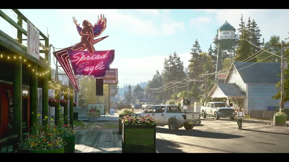 Trailer, Ego-Shooter, Ubisoft, Far Cry, Far Cry 5, Paris Games Week, Paris Games Week 2017, PGW, PGW 2017