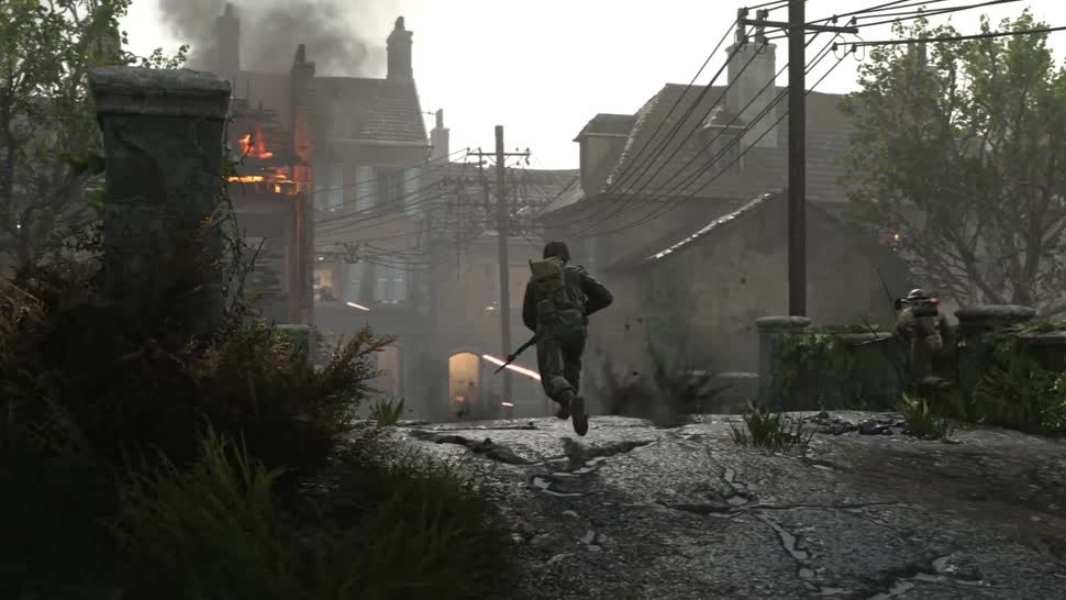 Call of Duty: WWII - Multiplayer-Trailer stellt Carentan-Map vor Call Of Duty Multiplayer Maps on