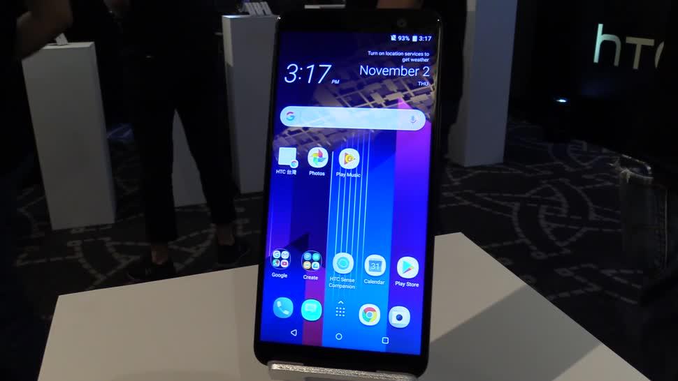 Smartphone, Android, Htc, Hands-On, Hands on, NewGadgets, Johannes Knapp, HTC U11, HTC U11 Plus, U11