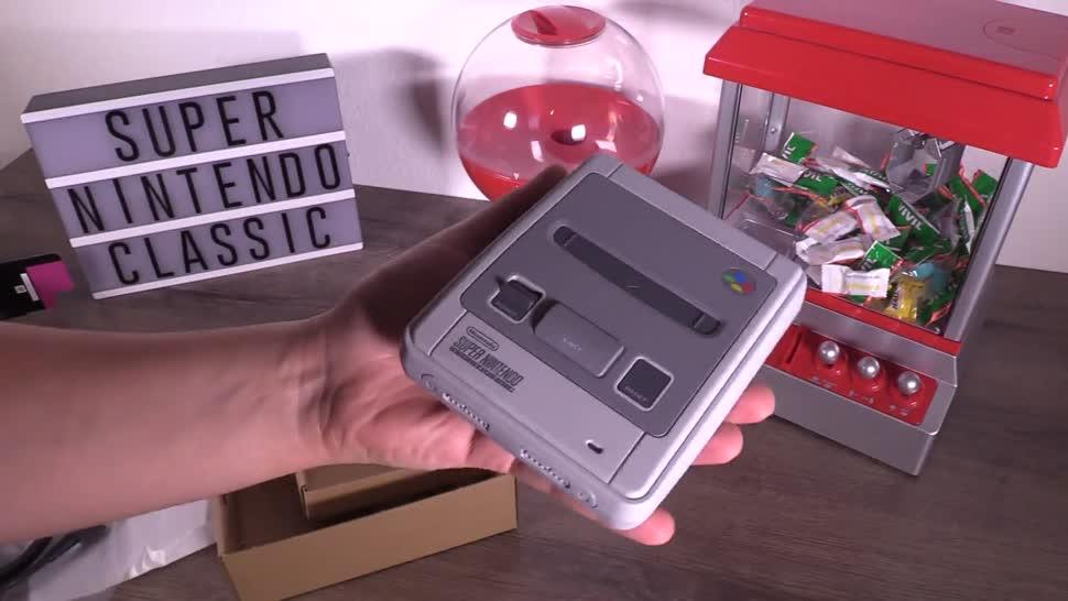 Gaming, Konsole, Nintendo, Test, NewGadgets, Retro, Unboxing, Johannes Knapp, SNES, SNES Classic Mini, SNES Classic