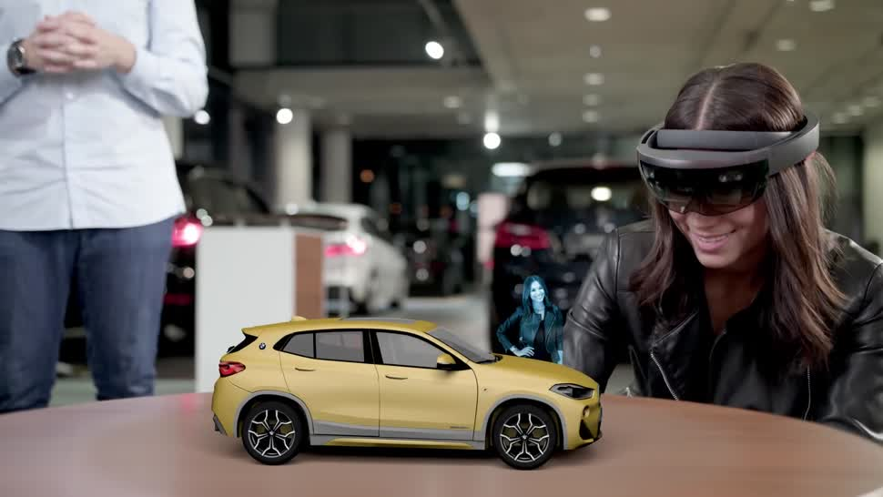 Microsoft, Augmented Reality, HoloLens, Microsoft HoloLens, BMW, Windows Mixed Reality, AR-Headset, Windows Mixed Reality Motion Controller