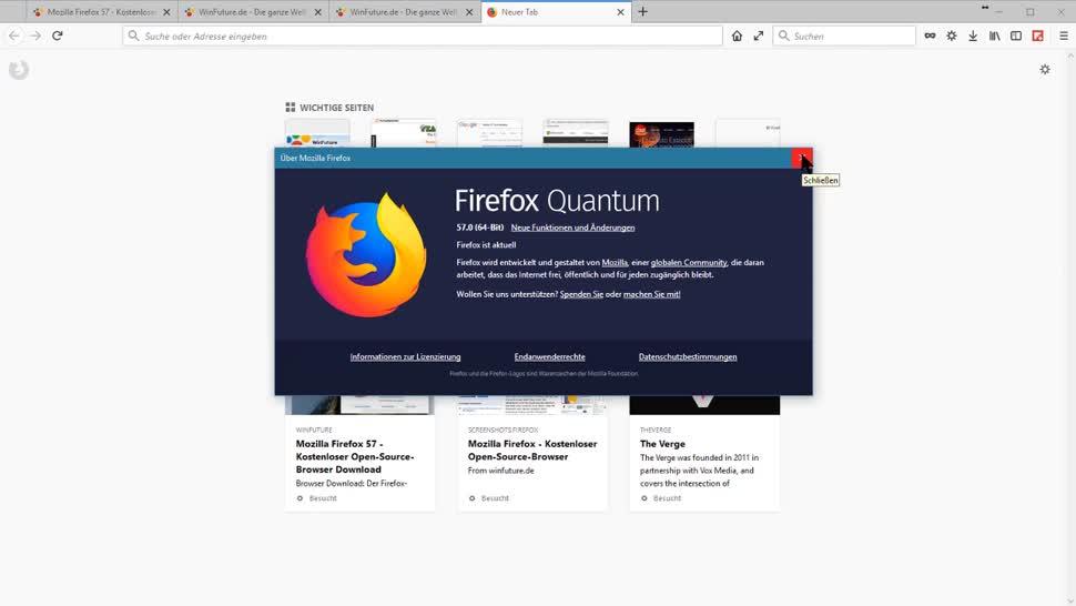Browser, Firefox, Mozilla, Webbrowser, Mozilla Firefox, Markus Kasanmascheff