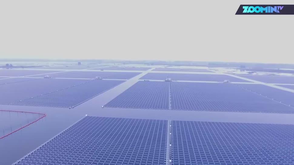 China, Zoomin, Energie, Solar, Energieversorgung, Solarenergie, Erneuerbare Energien, Regenerative Energie, Solar-Anlage, Solaranlage, Huainan