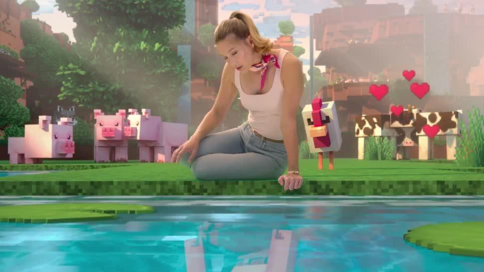 Microsoft, Trailer, Minecraft, mojang, musical
