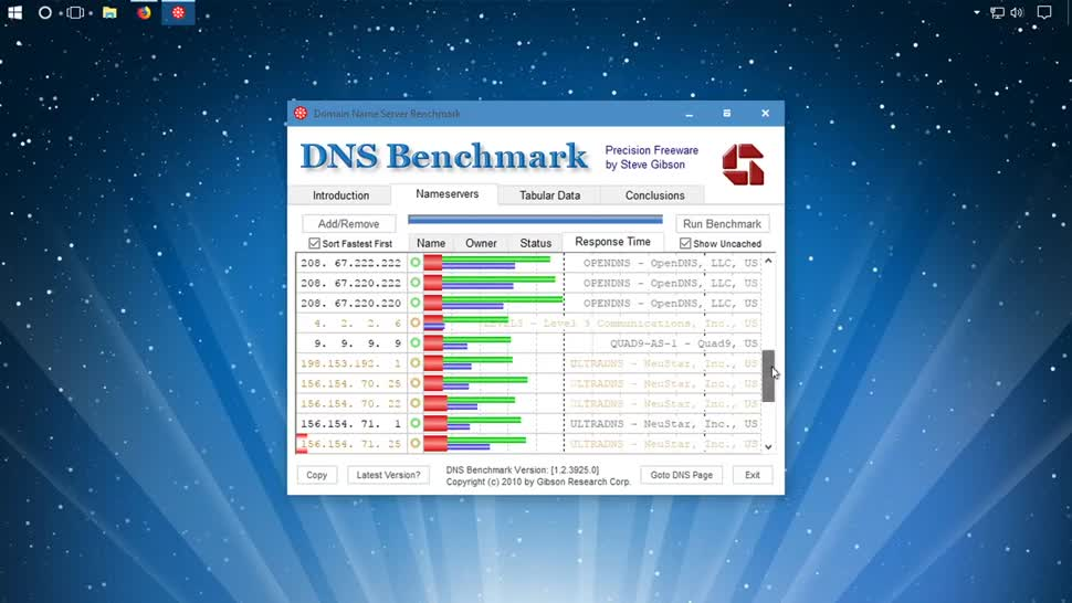Internet, Server, Benchmark, SemperVideo, Dns