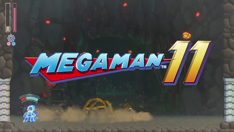 Trailer, actionspiel, Capcom, Mega Man, Mega Man 11