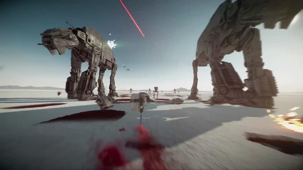 Trailer, Electronic Arts, Ego-Shooter, Ea, Dlc, Dice, Star Wars Battlefront II, Die letzten Jedi