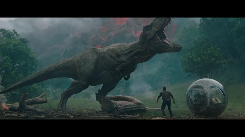 Trailer, Kinofilm, Universal Pictures, Jurassic World, Jurassic Park, Dinosaurier, Jurassic World 2, Das gefallene Königreich