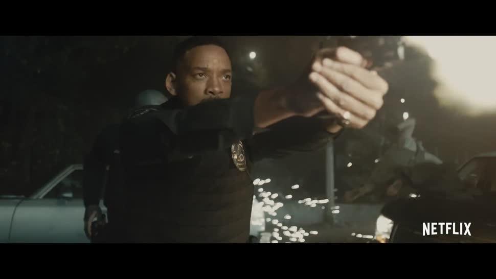 Trailer, Netflix, Bright, Will Smith