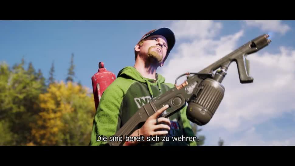 Trailer, Ego-Shooter, Ubisoft, Far Cry, Far Cry 5