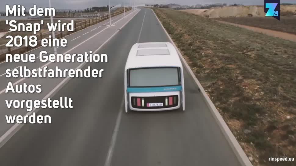 Zoomin, Autos, Selbstfahrendes Auto, Autonomes Auto, Elektroautos, Snap, modular, Elektroauto, autonomes Fahren, Selbstfahrende Autos, Rinspeed AG