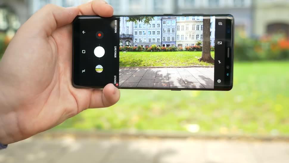 Smartphone, Samsung, Samsung Galaxy, Galaxy, Kamera, Samsung Mobile, Fotografie, Samsung Galaxy Note 8, Galaxy Note 8, Kamera-App