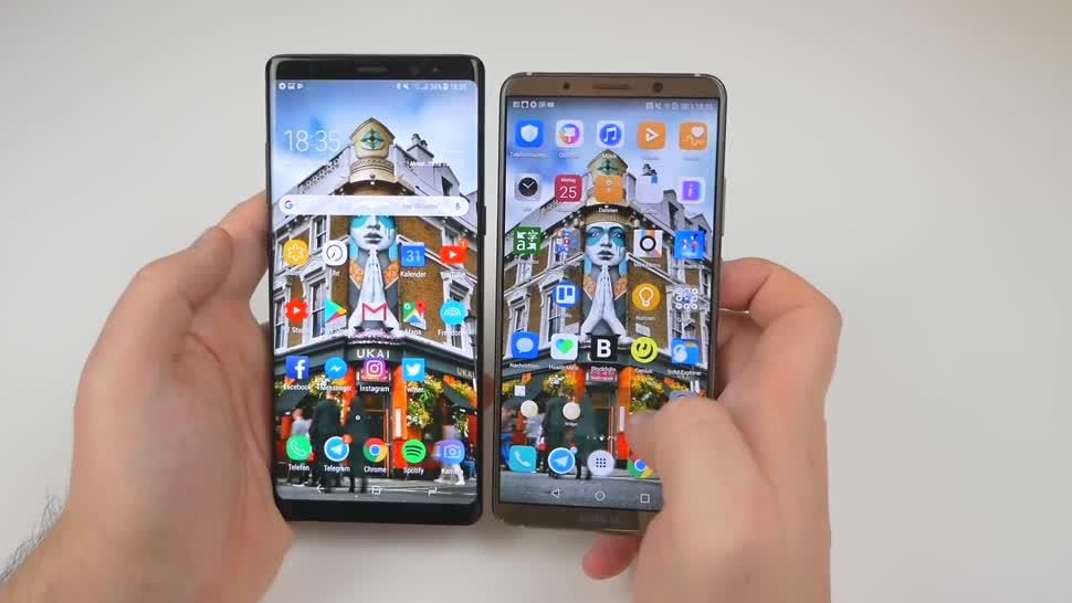 Smartphone, Android, Samsung, Huawei, Samsung Galaxy, Test, Vergleich, Daniil Matzkuhn, tblt, Samsung Galaxy Note 8, Note 8, Galaxy Note 8, Huawei Mate 10, Huawei Mate 10 Pro, galaxy note 8.0, Mate 10 Pro
