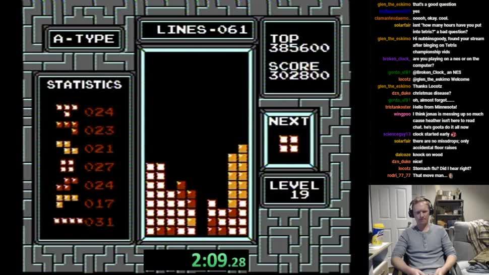 Rekord, Tetris, Weltrekord, Bestenliste, Speedrun, Jonas Neubauer