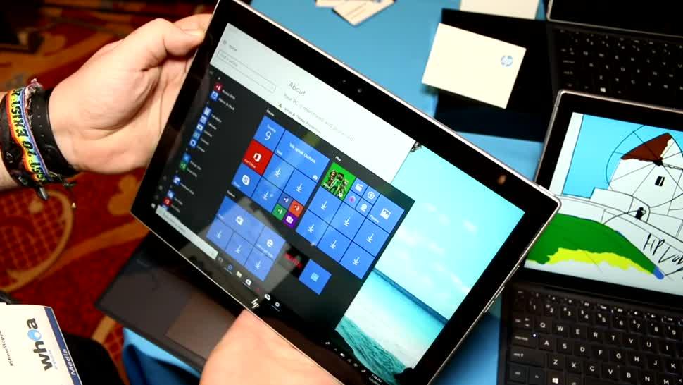 Windows 10, Hp, Ces, Hands on, Snapdragon, Roland Quandt, Windows 10 S, CES 2018, HP Envy X2 Snapdragon