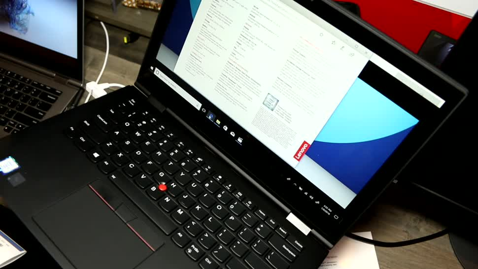 Notebook, Lenovo, Ces, 2-in-1, Thinkpad, CES 2018, ThinkPad X1 Yoga