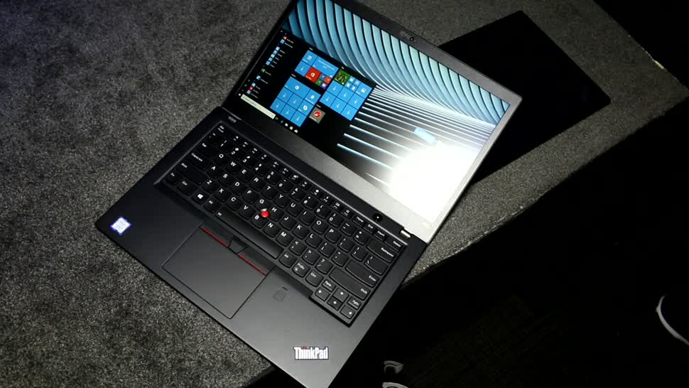 Lenovo, Hands-On, Ces, Hands on, Thinkpad, CES 2018, Lenovo ThinkPad, Consumer Electronics Show, Lenovo ThinkPad T480s