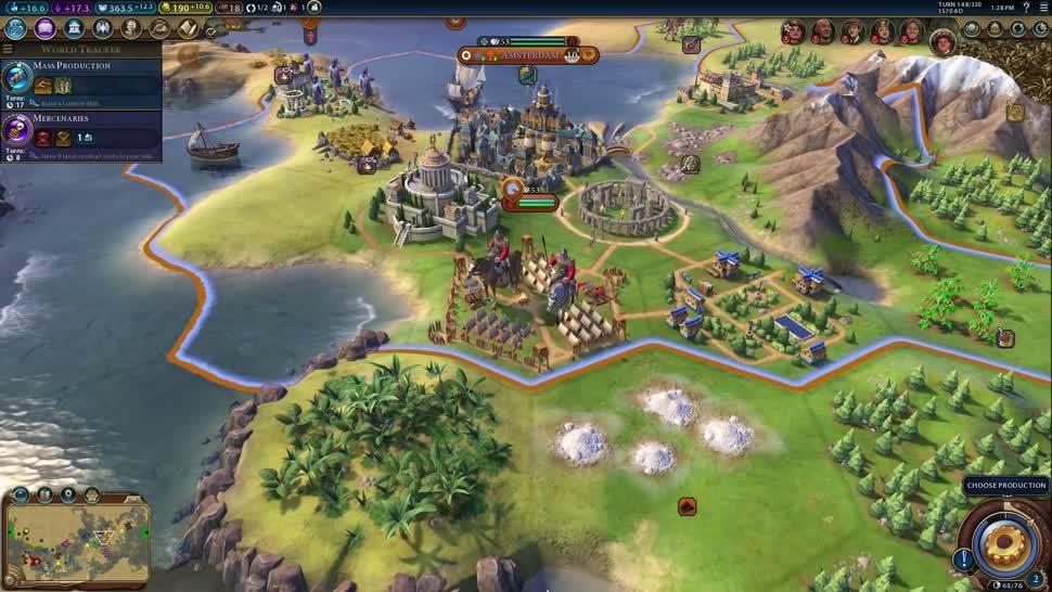 Trailer, Dlc, 2K Games, Strategiespiel, Civilization, Civilization VI, Civilization 6, Rise and Fall