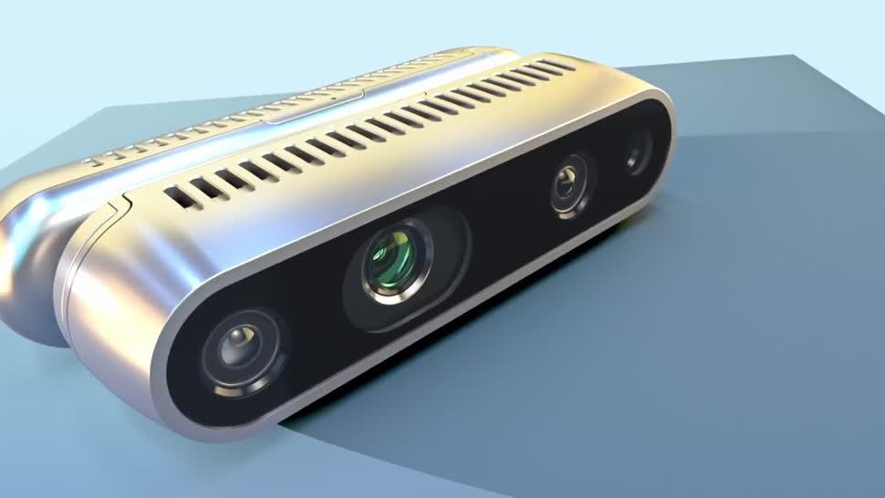 Intel, Kamera, 3d, RealSense, D415, D435