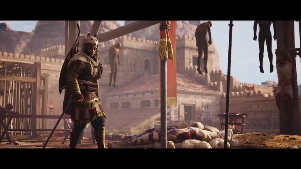 Trailer, Ubisoft, actionspiel, Dlc, Assassin's Creed, Assassin's Creed Origins, Die Verborgenen