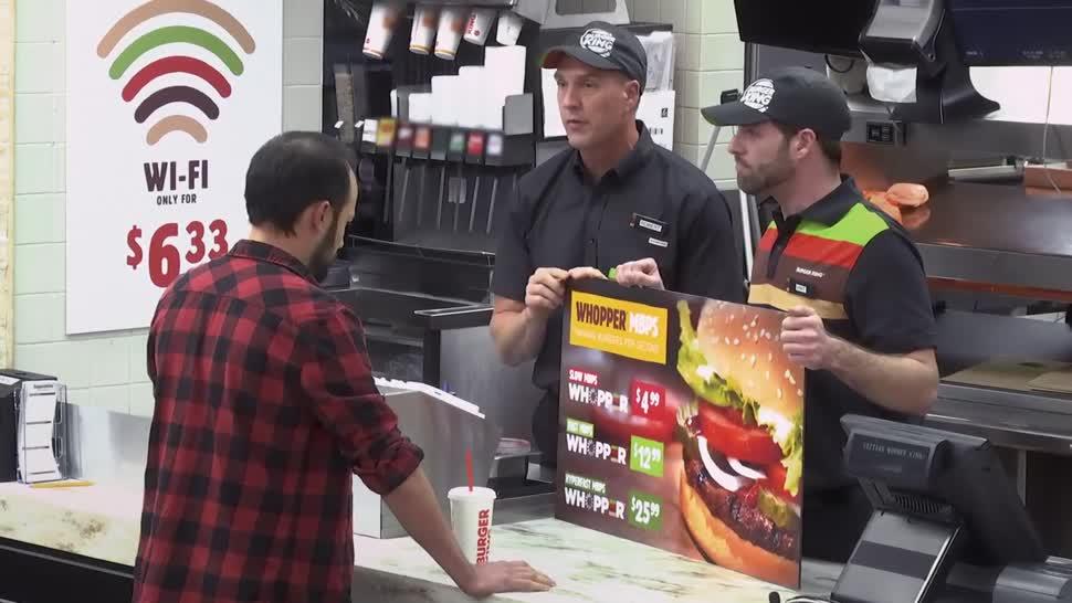 Internet, Werbung, Politik, Netzneutralität, Experiment, Burger King