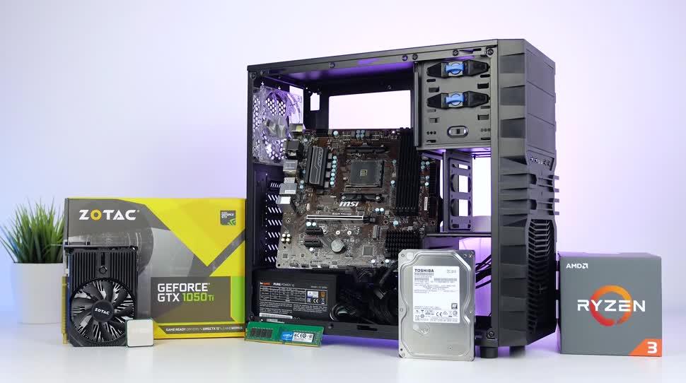 Prozessor, Cpu, Test, Amd, Toshiba, Ryzen, Zenchilli, Zenchillis Hardware Reviews, 3dmark, gaming-pc, AMD Ryzen, Crucial, bequiet, Ryzen 3, Sharkoon, Ryzen 3 1200
