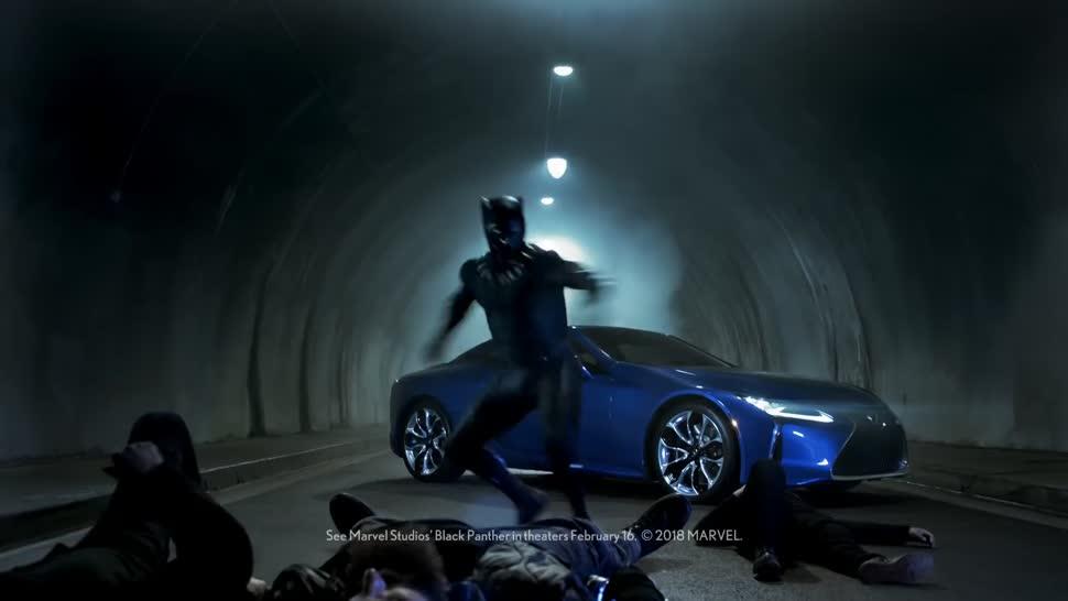 Werbung, Marvel, Super Bowl 2018, Lexus, Black Panther