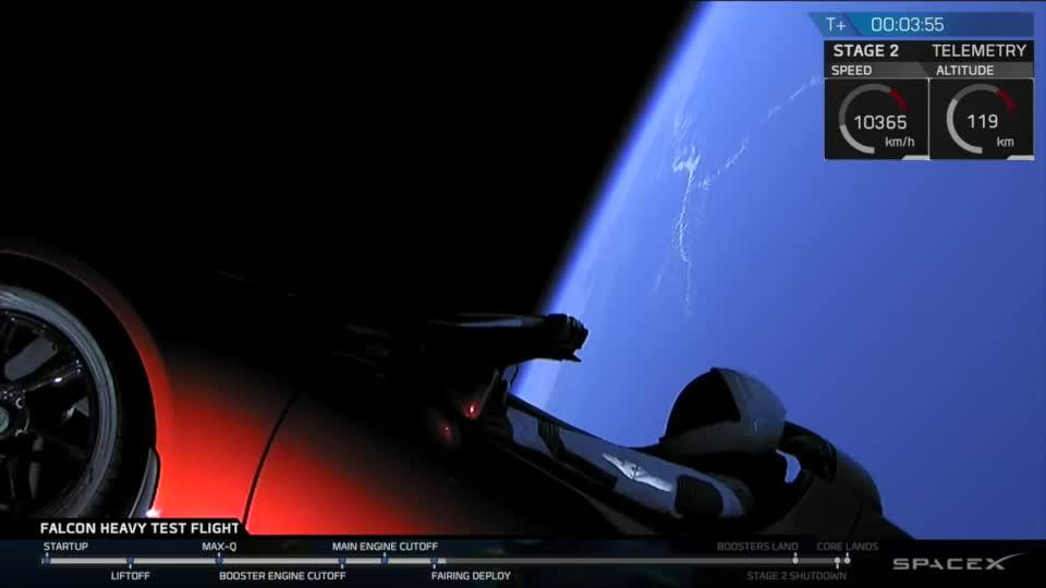 Forschung, Weltraum, Raumfahrt, Elon Musk, Spacex, Rakete, Falcon Heavy