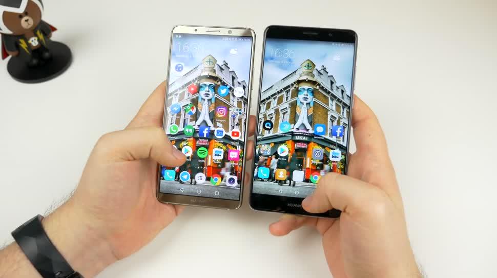 Das Huawei Mate 10 Pro im Vergleich mit dem Mate 9