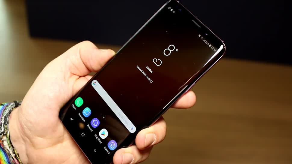 Smartphone, Android, Samsung, Lte, Test, Hands-On, Mwc, Hands on, Mobile World Congress, MWC 2018, Galaxy S9, Samsung Galaxy S9+, S9+