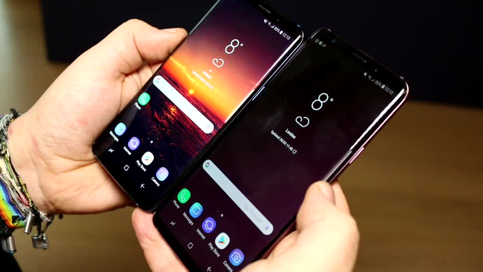 Smartphone, Android, Samsung, Lte, Samsung Galaxy, Galaxy, Test, Hands-On, Mwc, Hands on, MWC 2018, Galaxy S9, S9
