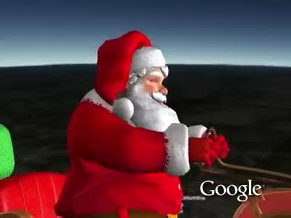 Google, Weihnachtsmann, NORAD