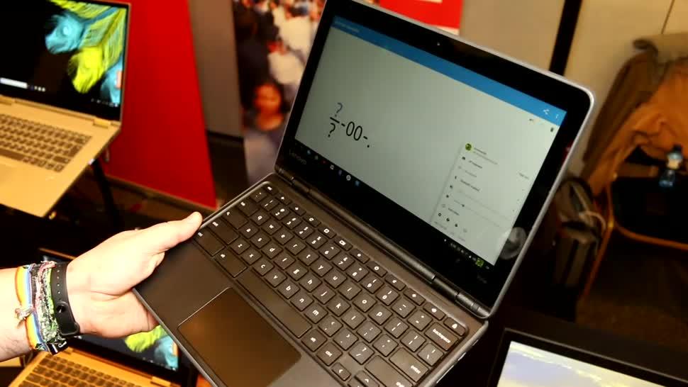 Lenovo, Mwc, Chrome OS, Chromebook, MWC 2018, 300e