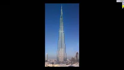 Dubai, Gigapixel, Burj Dubai