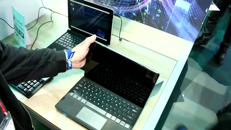 Intel, Lte, Hands-On, Mwc, Hands on, Mobile World Congress, MWC 2018, Roland Quandt, 5G