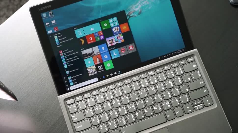 Windows 10, Tablet, Test, 2-in-1, Andrzej Tokarski, Tabletblog, Miix, Lenovo Miix, Lenovo Miix 520, MIIX 520
