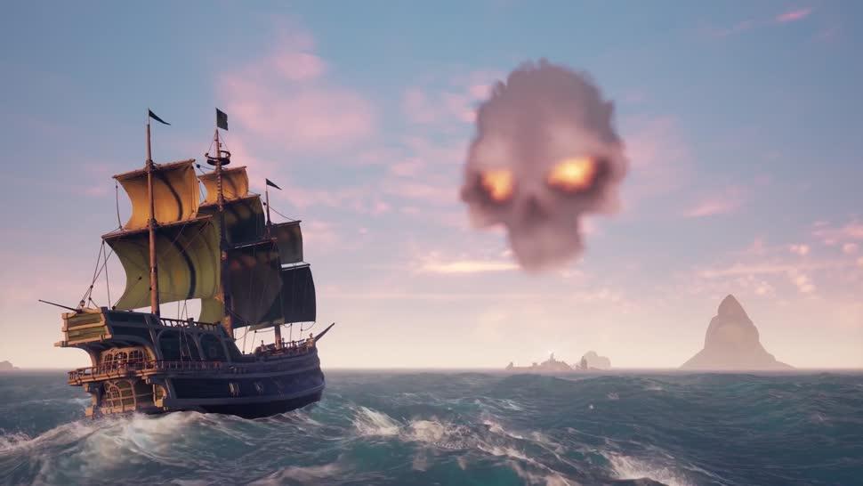 Microsoft, Trailer, Windows 10, Xbox, Xbox One, Microsoft Xbox One, Online-Spiele, Online-Rollenspiel, Sea of Thieves, Rare