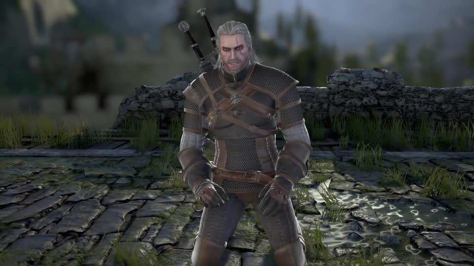 Prügelspiel, CD Projekt RED, The Witcher, Bandai Namco, Soul Calibur, Soul Calibur 6, Geralt von Riva