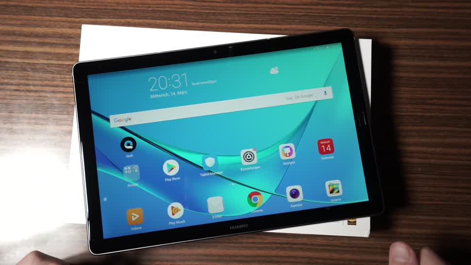 Android, Tablet, Huawei, Benchmark, Andrzej Tokarski, Tabletblog, Unboxing, Oreo, MediaPad, Android Oreo, Huawei MediaPad M5 10, MediaPad M5, MediaPad M5 10
