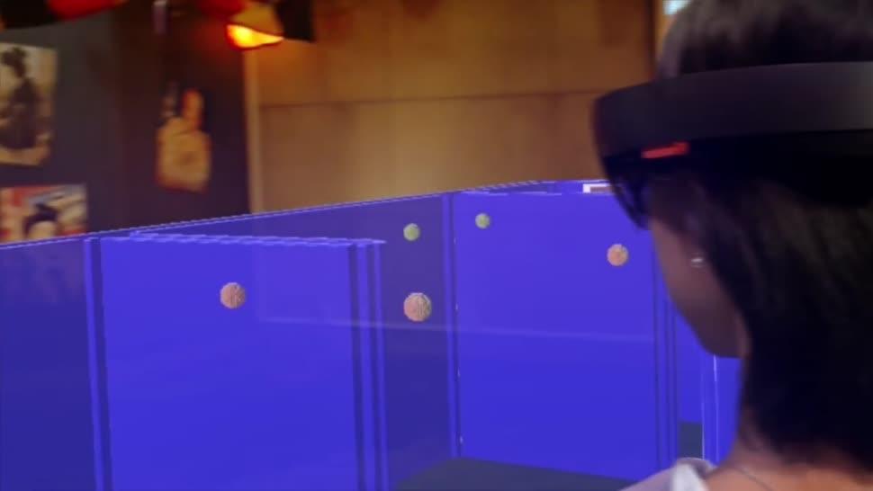 Microsoft, HoloLens, Mixed Reality, Bandai Namco, Pacman, Pac in Town
