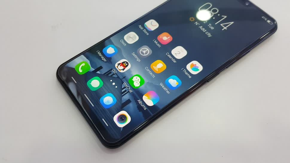 Smartphone, Android, Display, Test, Octacore, Hands-On, Hands on, OLED, Fingerabdruckleser, Review, iPhone X, Daniil Matzkuhn, Klon, Qualcomm Snapdragon 660, Vivo X21, Vivo X21 UD, Vivo X21A, FunTouchOS