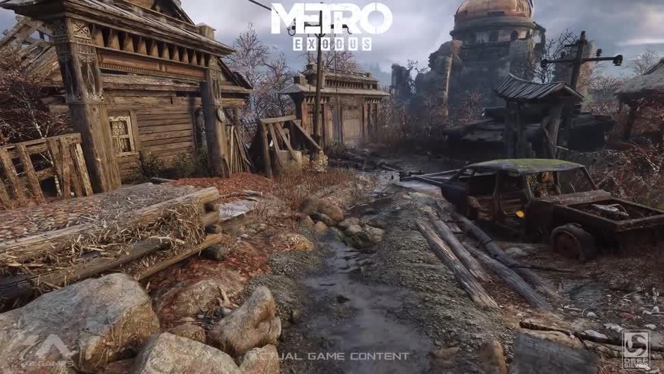 Trailer, Ego-Shooter, Nvidia, Metro, GDC, Game Developers Conference, RTX, Metro Exodus, Nvidia RTX, GeForce RTX, GDC 2018