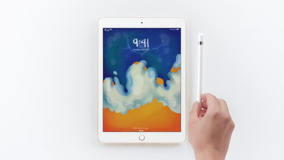 Apple, Tablet, iOS, Ipad, Apple Ipad, iOS 11, Eingabestift, Apple Pencil