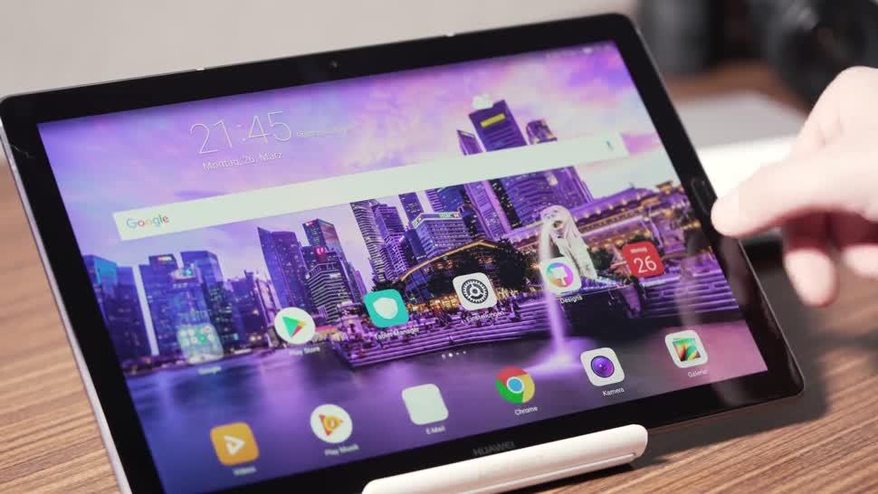 Android, Tablet, Huawei, Test, Andrzej Tokarski, Tabletblog, Android Oreo, MediaPad, Android 8.0 Oreo, Huawei MediaPad M5 10, MediaPad M5, MediaPad M5 10