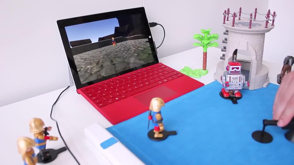 Microsoft, Spiel, Touch, Microsoft Research, NFC, Bildung, Sensorik, Eingabegerät, Project Zanzibar