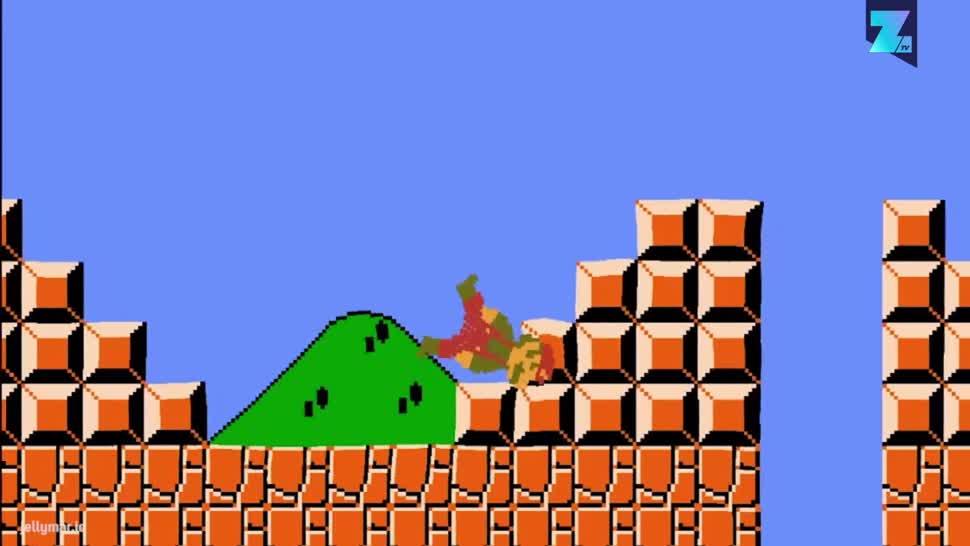 Zoomin, Kostenlos, Super Mario, Jump & Run, Browserspiel, Jelly Mario, Stefan Hedman