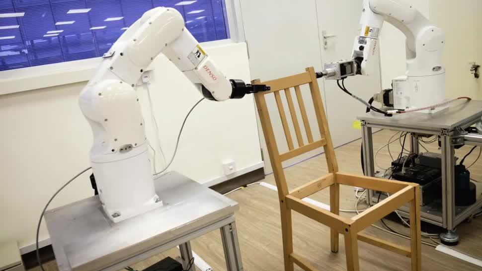 Forschung, Roboter, Künstliche Intelligenz, Ki, Robotik, Ikea, möbel